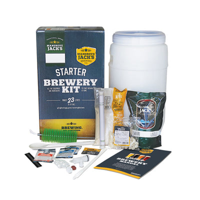 Mangrove Jack's Home Brewing Kit with Personalised Labels