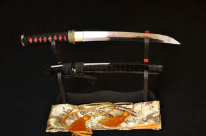"21"" High Quality Japanese Samurai Sword Tanto Clay Tempered"