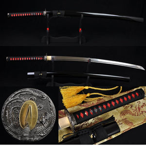 Japanese Samurai Katana Phenix Sword High Carbon Steel Full Tang Blade