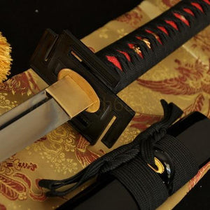 1060 High Carbon Steel FullTang Blade Japanese Samurai Katana Battle Ready Sword