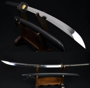 "45"" High Quality Japanese Samurai Sword Naginata Unokubi-zukuri Blade Very Sharp"