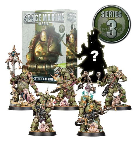 Space Marine Heroes 3 - set COMPLETO