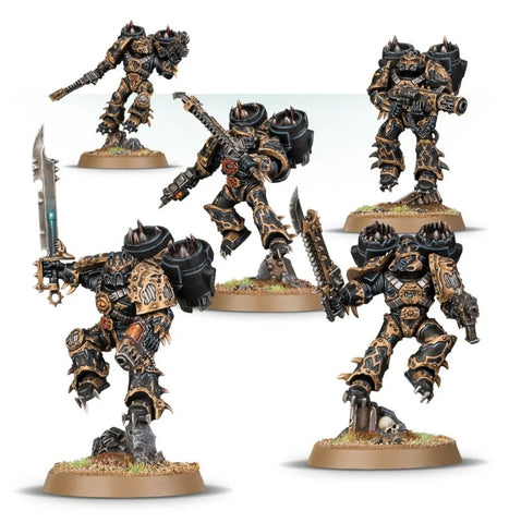 Chaos Space Marines - Raptors