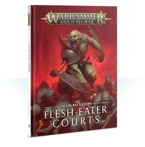 Battletome: Flesh-eater Courts (Inglese)