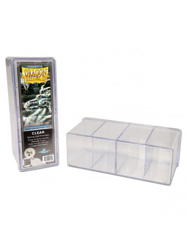 Dragon Shield Storage Box w. 4 compartments - Clear
