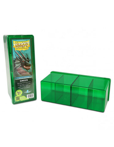 Dragon Shield Storage Box w. 4 compartments - Green
