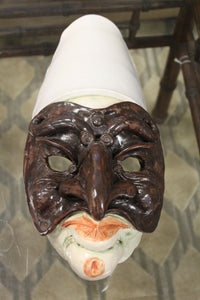 Pulcinella Theater Mask