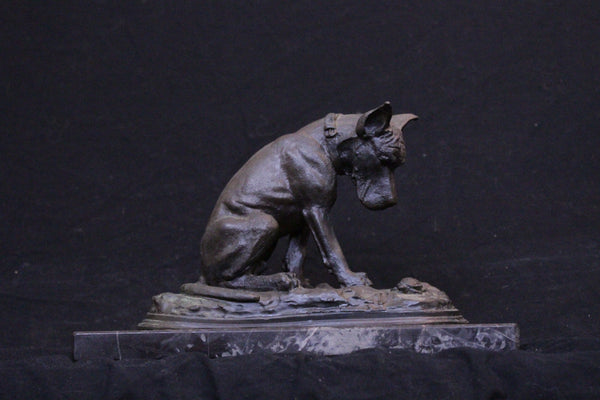 Chris Baldwin Dog Bronze