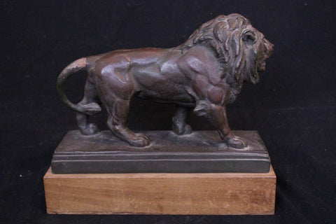 Bronze Coated Lion