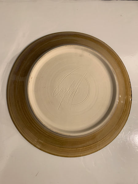 Shallow Pottery Bowl