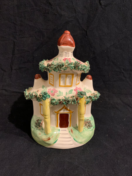 Staffordshire Type Cottage mid 20th century English pottery