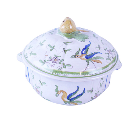 20th Century French Pottery Tureen