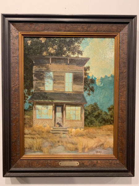 "Original oil on canvas - Sean Youngs - 1981. This is a late 20th Century realism painting in good condition.  It is signed by Sean Youngs, a Connecticut artist associated with the Lyme group. The canvas is 18""x14"" and the frame is 23""x19""."