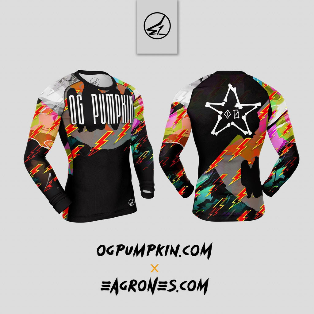 OGP Bolts Rash Guard