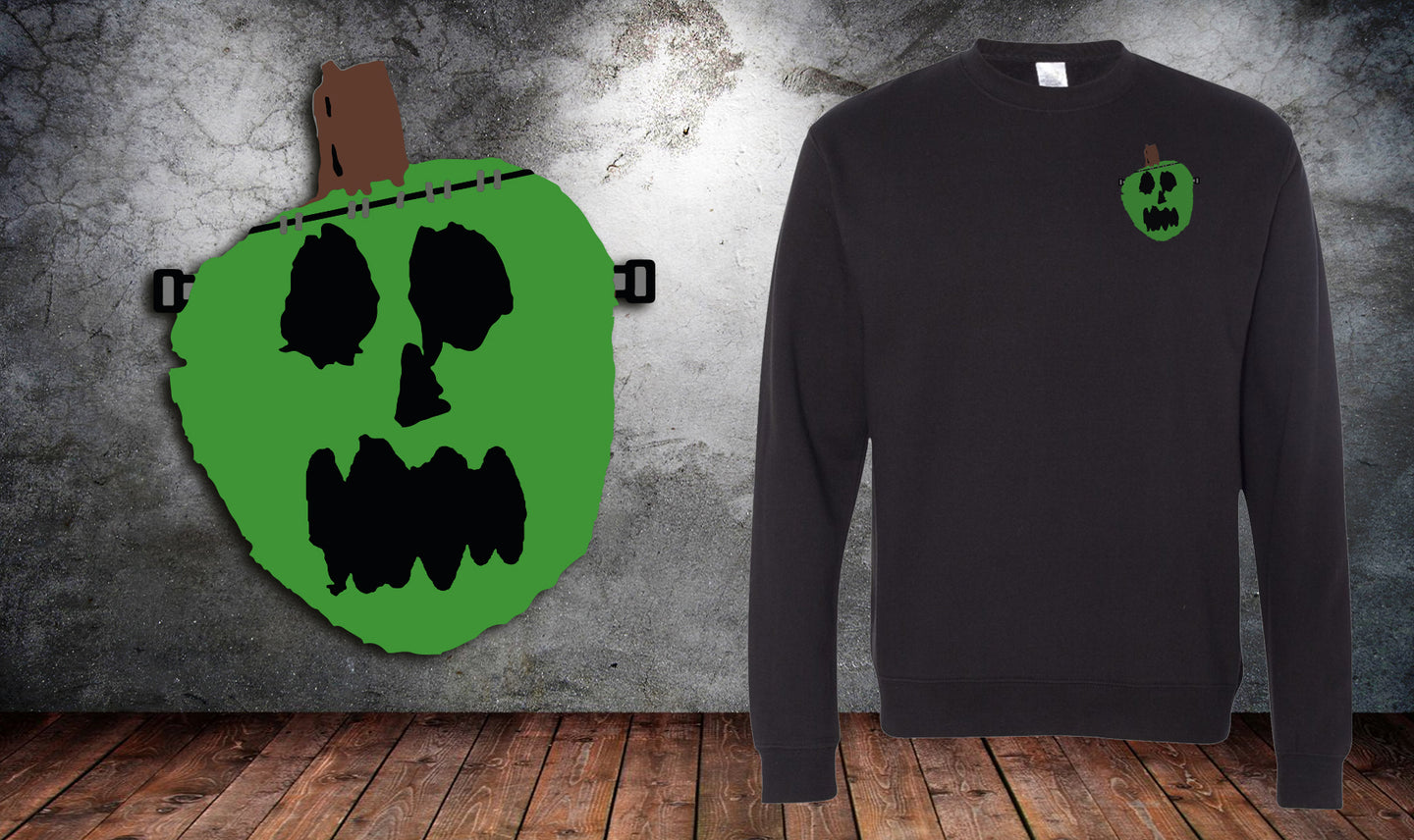Franken Pumpkin Sweater