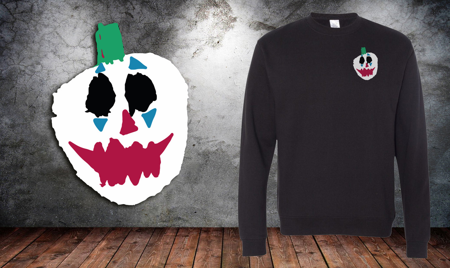 Joker Pumpkin Sweater