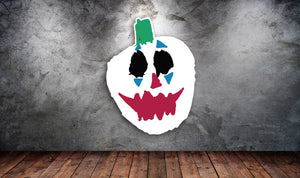 Joker Pumpkin Sticker