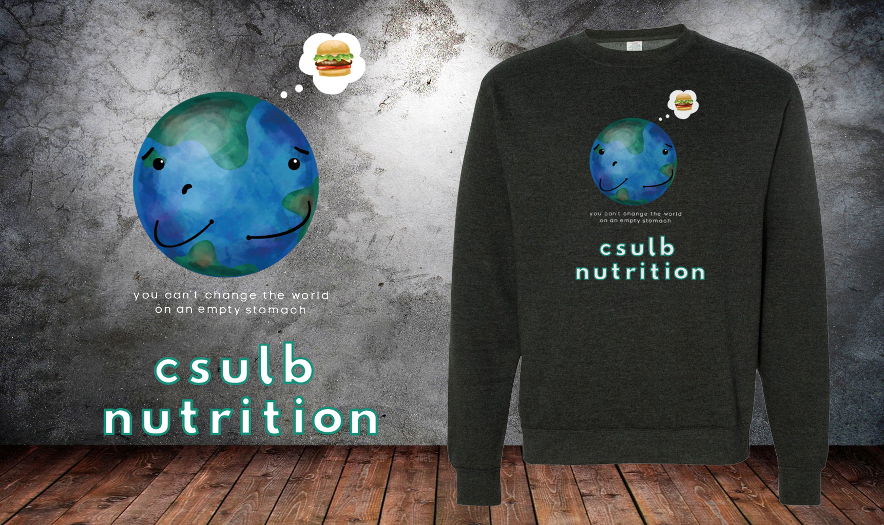 CSULB World Nutrition Sweater