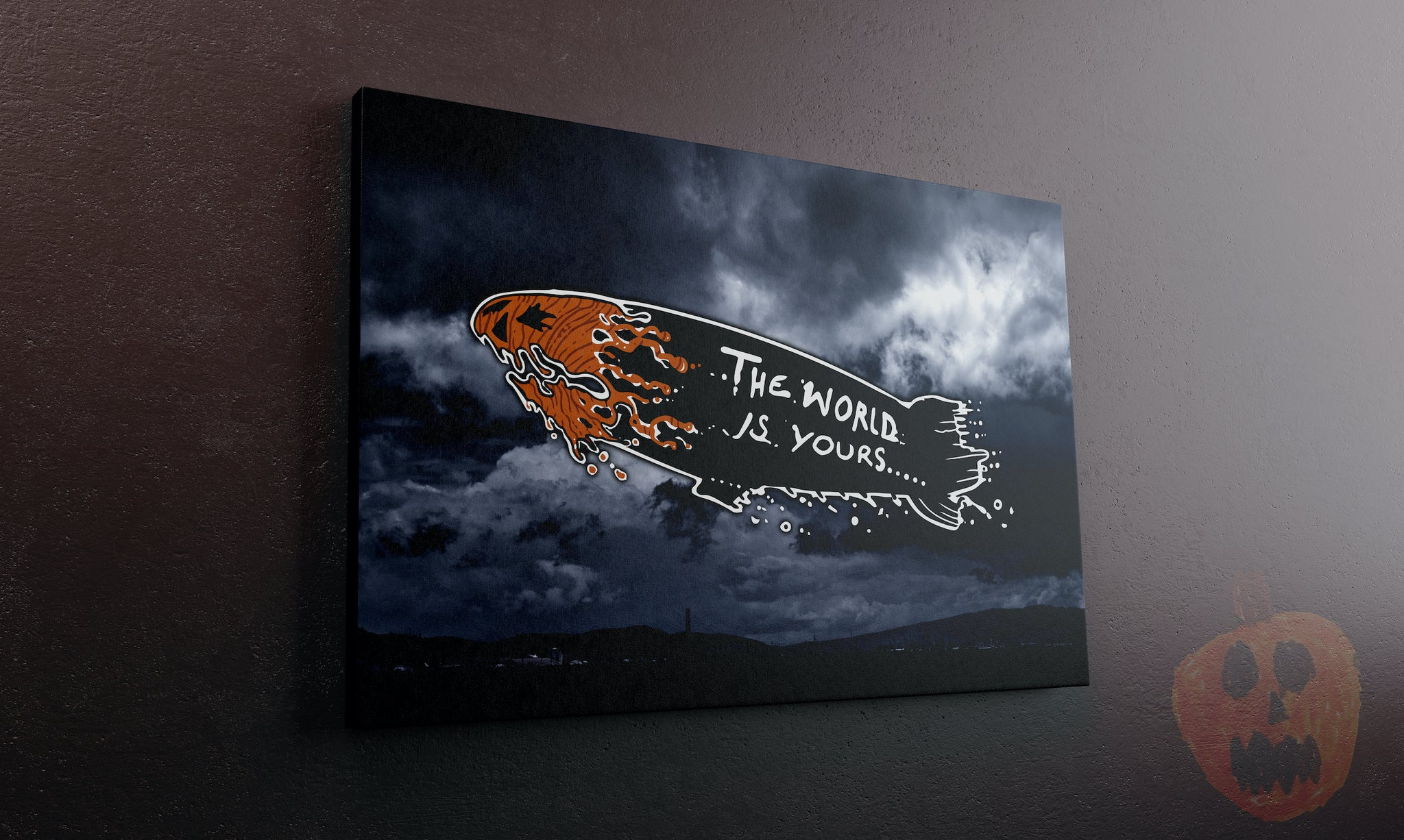 The World Is Yours Canvas