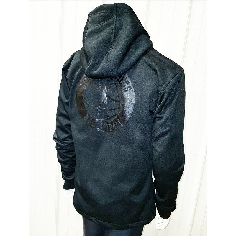 Blk on Blk Xcite AthleticS Shell Jacket (With Hood)