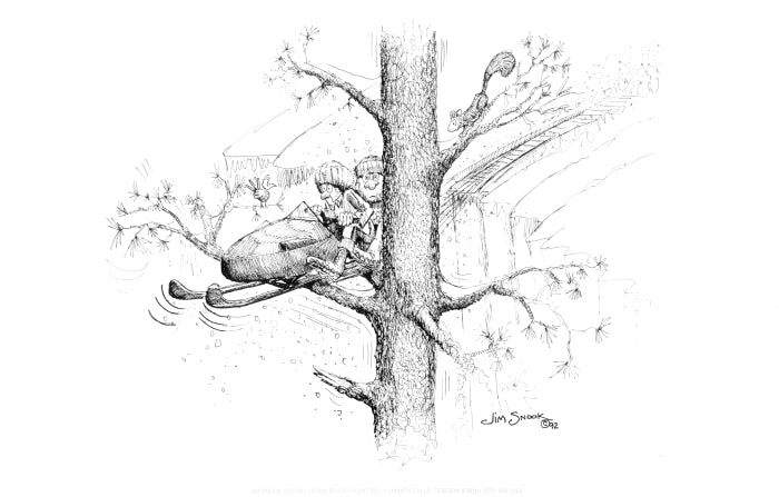 Out On A Limb Print Jim Snook Studio
