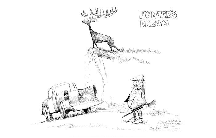 Hunter S Dream Print Jim Snook Studio