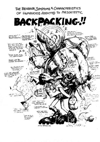 Backpacking Poster
