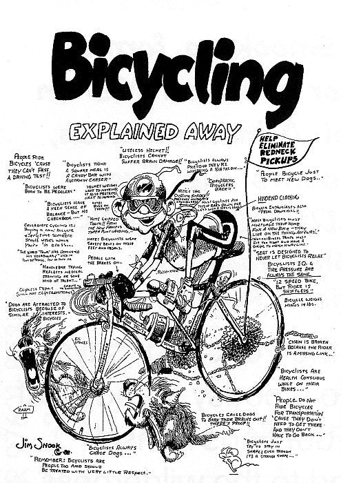 Bicycling Poster