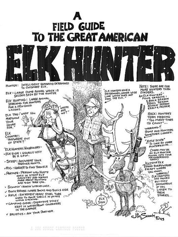 Elk Hunter Poster