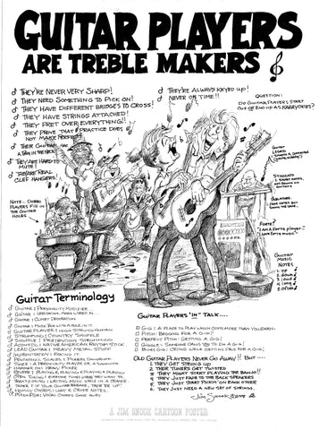 Guitar Players Poster