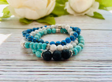 Gemstone Bracelets - Black Cat Modern Boho Handmade Jewelry