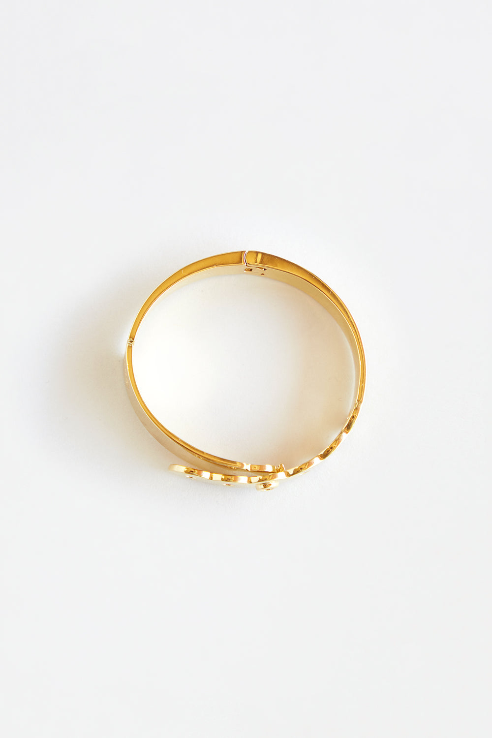 Gold Patient Bangle