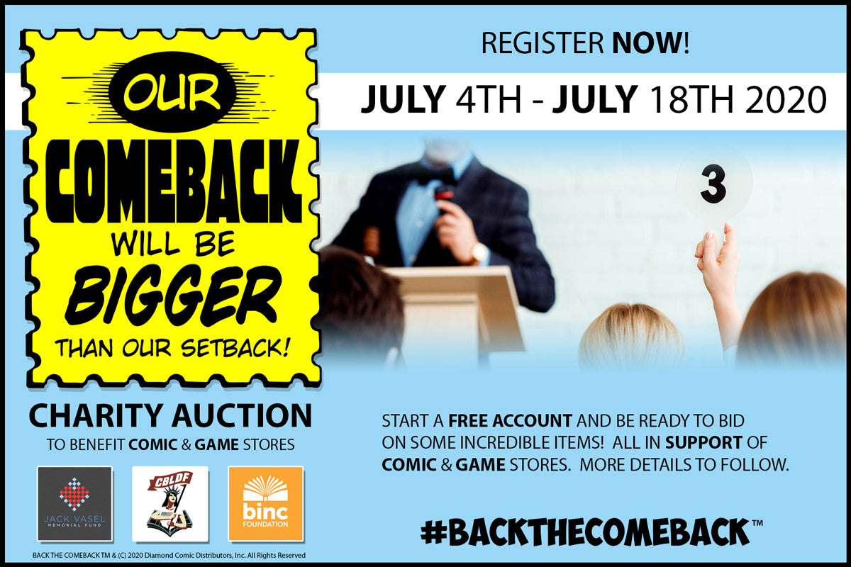 Back the Comeback Auction