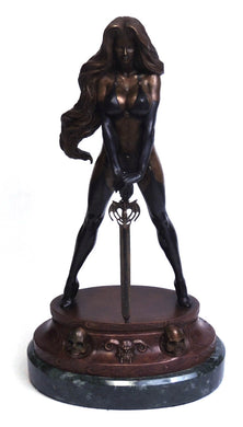 *Lady Death Fine Art Bronze Statue by Clayburn Moore