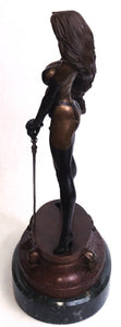 Lady Death Fine Art Bronze Statue by Clayburn Moore