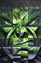 Load image into Gallery viewer, Incredible Hulk Original Painting by Tim Rogerson