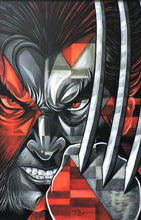 Load image into Gallery viewer, Wolverine Logan Original Painting by Tim Rogerson