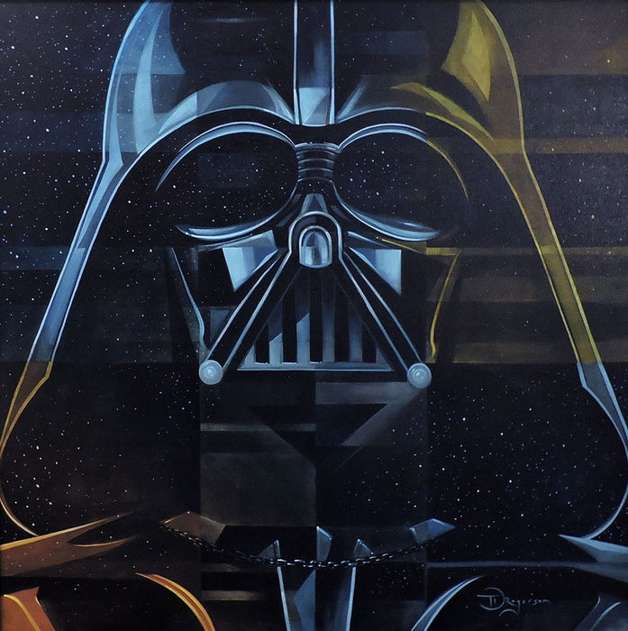 Darth Vader Original Painting by Tim Rogerson