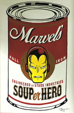 Load image into Gallery viewer, SOUPer Hero - Iron Man Original Painting by Tim Rogerson
