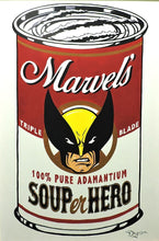 Load image into Gallery viewer, SOUPer Hero - Wolverine Original Painting by Tim Rogerson