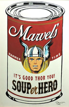 Load image into Gallery viewer, SOUPer Hero - Thor Original Painting by Tim Rogerson
