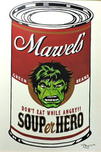 Load image into Gallery viewer, SOUPer Hero - Incredible Hulk Original Painting by Tim Rogerson