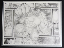 Load image into Gallery viewer, Hulk Beyond The Borders Framed Original Art by Randy Martinez