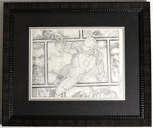 Load image into Gallery viewer, Iron Man Beyond The Borders Framed Original Art by Randy Martinez