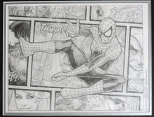 Load image into Gallery viewer, Spider-Man Beyond The Borders Framed Original Art by Randy Martinez