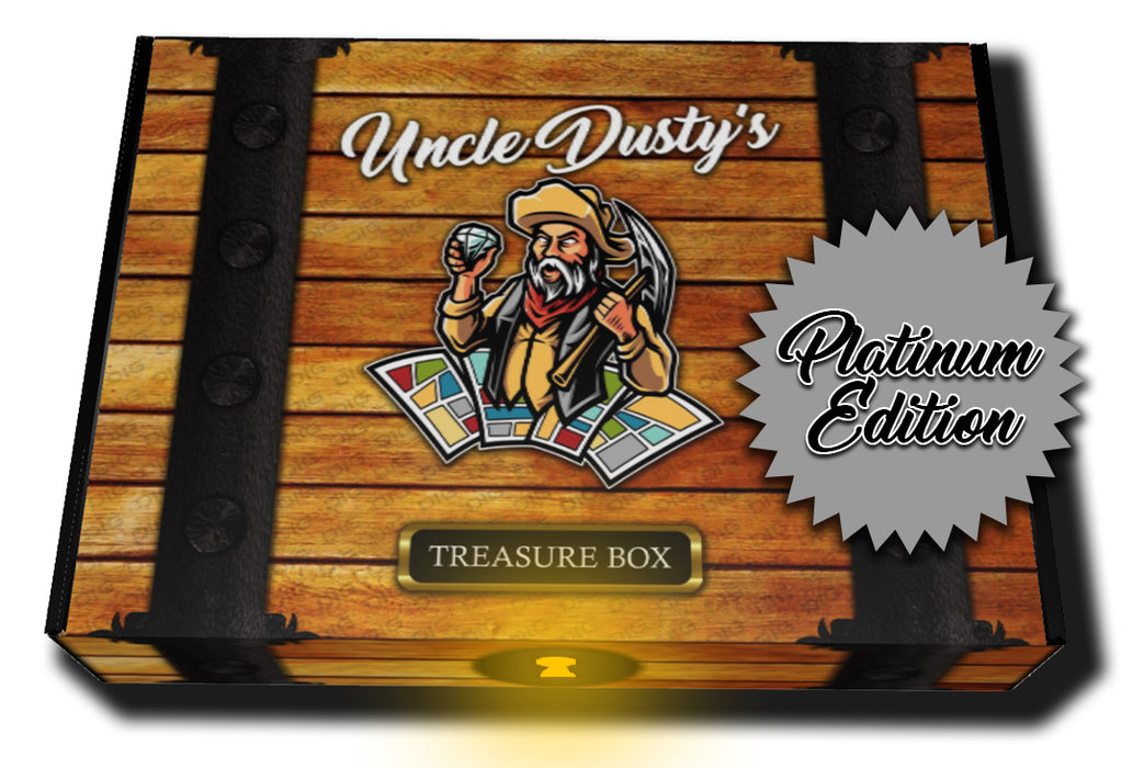 Uncle Dusty's Platinum Treasure Box (Very Limited)