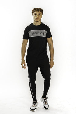 HAWORTH T-SHIRT - BLACK / GREY