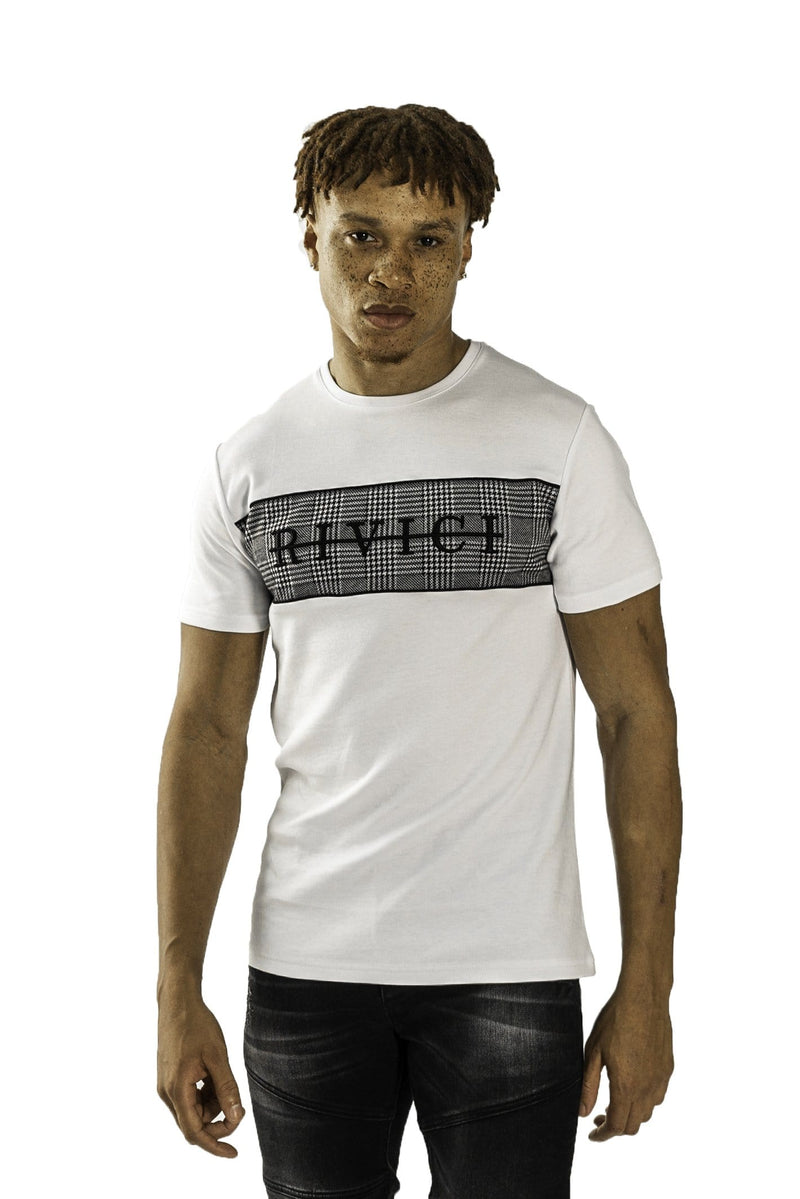 HAWORTH T-SHIRT - WHITE / GREY