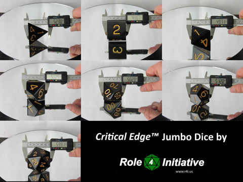 Role 4 Initiative Critical Edge™ Jumbo Dice
