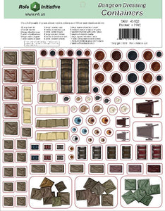 Dungeon Dressing - Containers